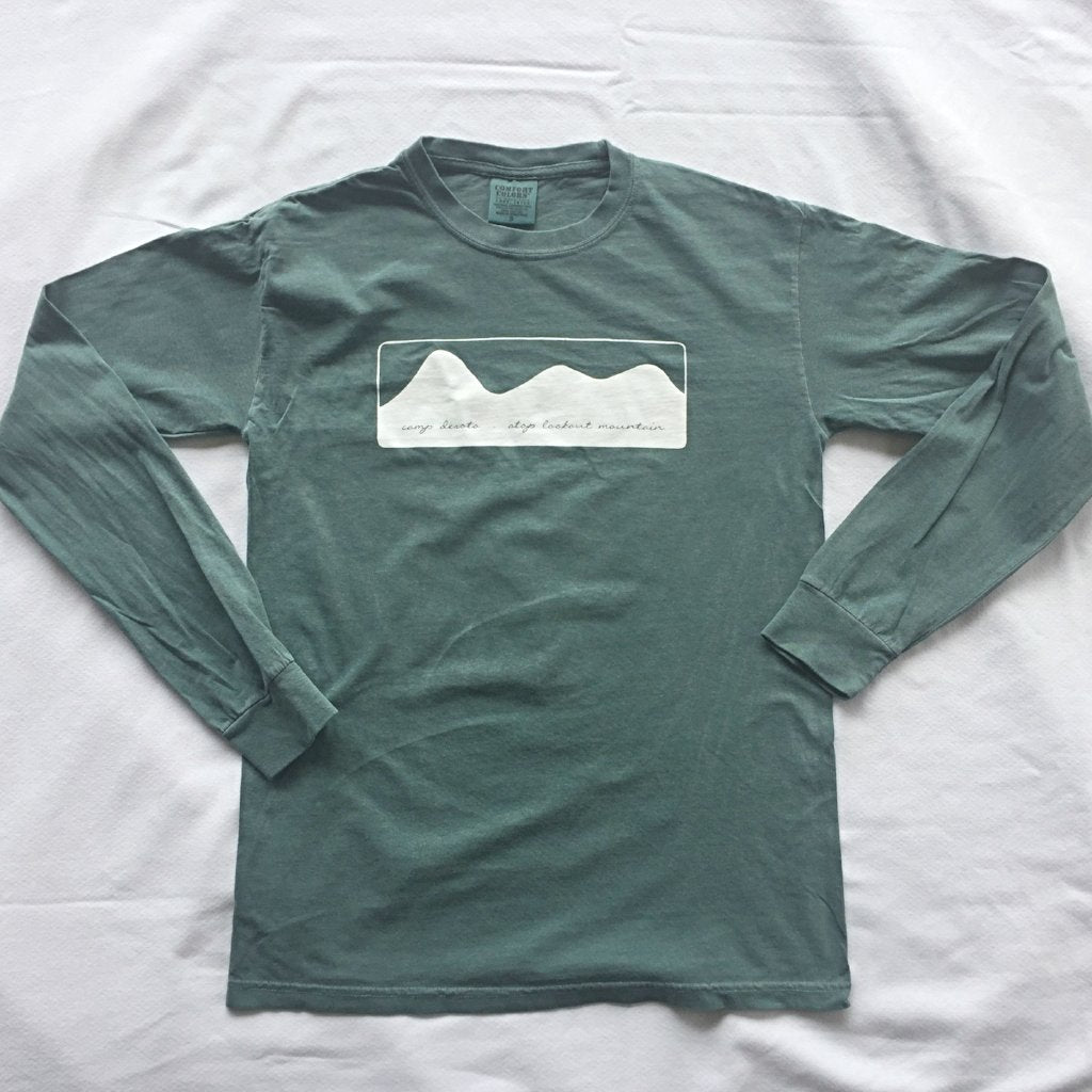 """MOUNTAINS"" Long-Sleeve T-Shirt"