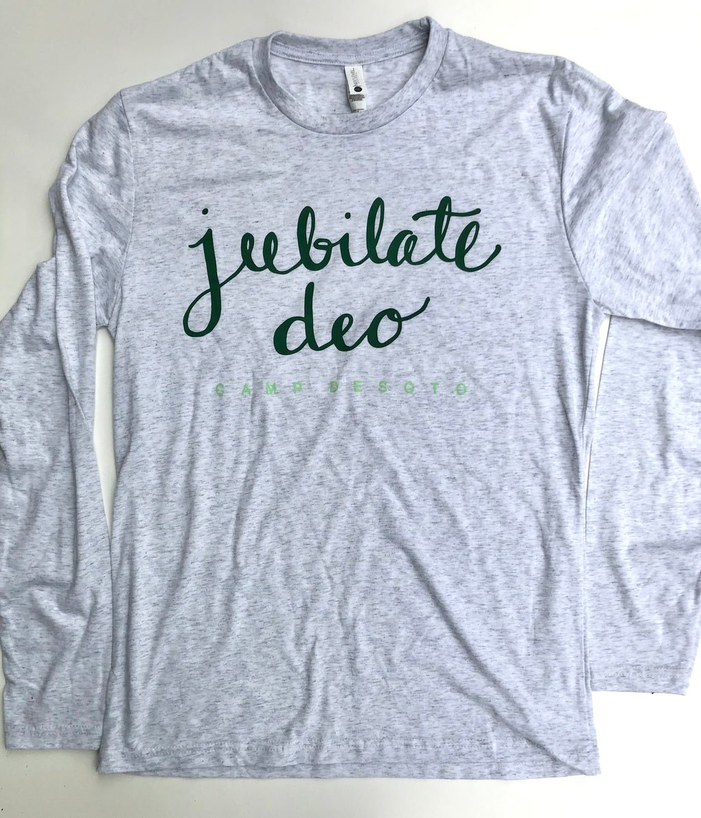 """Jubilate Deo"" Long Sleeve T-Shirt"