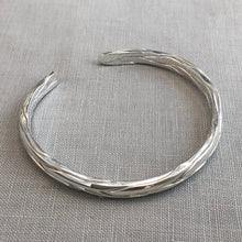 Patterned Silver Cuff