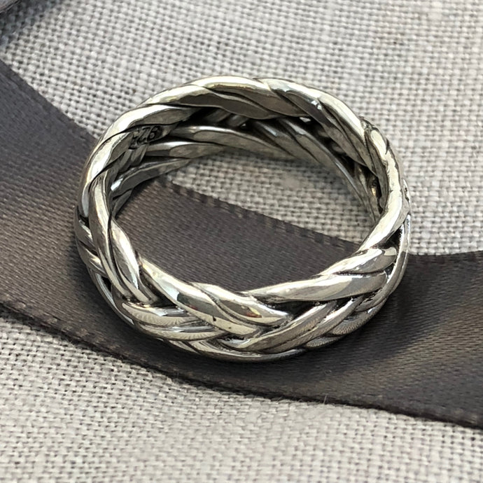 Plaited Silver