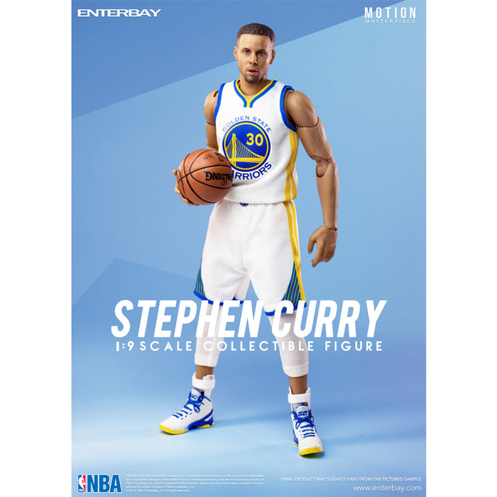 1/9 Stephen Curry - 居里 可動人偶