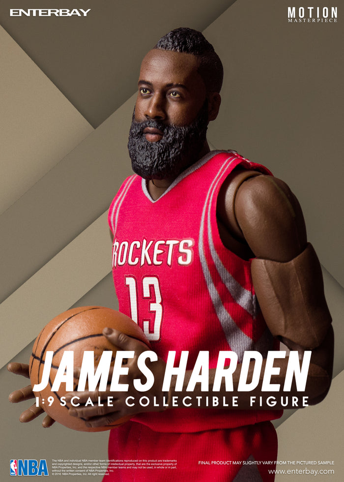 ENTERBAY 1/9 James Harden - 夏登 可動人偶