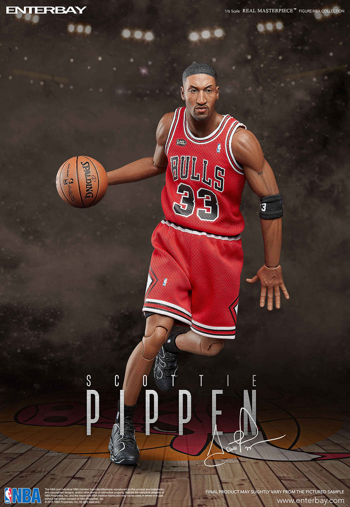 ENTERBAY 1/6 Scottie Pippen - 史葛特·柏賓 可動人偶 (再販)