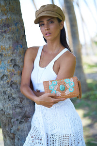 Patrice Forget-Me-Nots Wallet - Jodi Lee