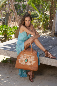 Queen Hibiscus Bag