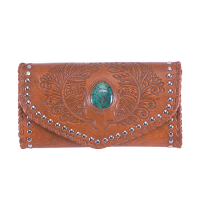 Hiawatha Feather Wallet