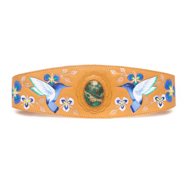 Monterey Hummingbird Belt - Jodi Lee