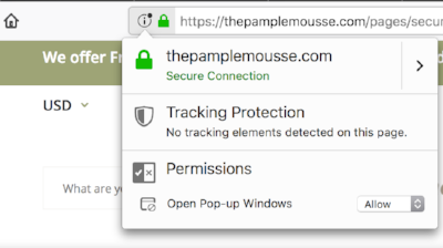 The Pamplemousse Secure Connection