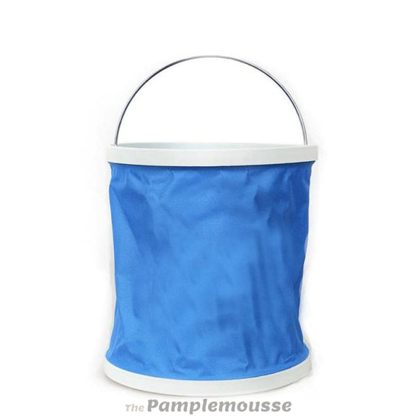 10L Outdoor Foldable Easy To Carry Camping Bucket Collapsible Water Fishing Bucket - Blue - Free Shipping - Outdoor - Gear - $14.00 | The
