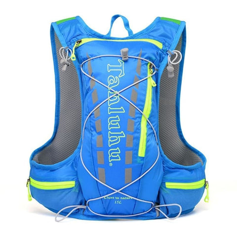 15L Outdoor Hydration Backpack Running Trail Cycling Sport Vest Hydro Bag Climbing Hiking Cycling Rucksack - Free Shipping - Outdoor -