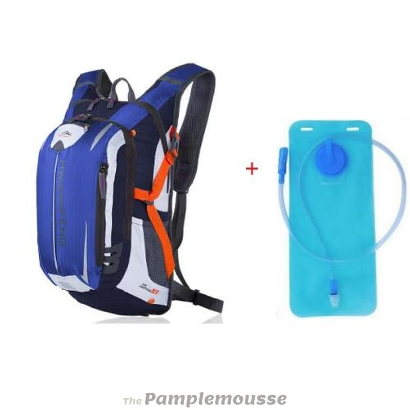 f36f189c4cc9 18L Sports Water Bladder Hydration Backpack Outdoor Running Trail Climbing  Cycling Hiking Camelback - Blue -