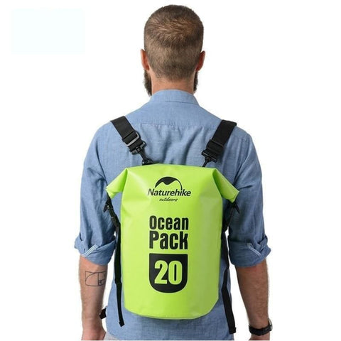 20L-30L Ultralight Outdoor Swimming Storage Floating Backpack Waterproof Camping Snorkeling Rafting Dry Bag - Free Shipping - Outdoor - Bags