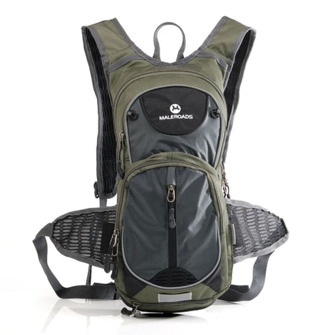 20L Riding Bicycle Backpack Waterproof Zipper Sport Outdoor Rucksack - Army Green - Free Shipping - Outdoor - Outdoor - $49.00 | The