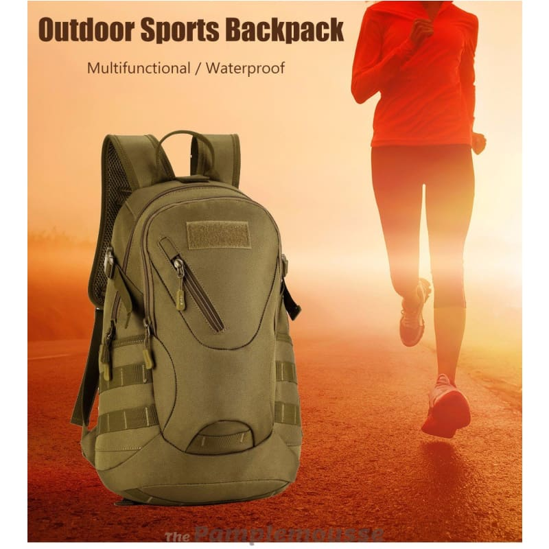 c7faaf1e8335 20L Waterproof Military Backpack For Outdoor Traveling Cycling Tactical Camping  Hiking Rucksack - Free Shipping -