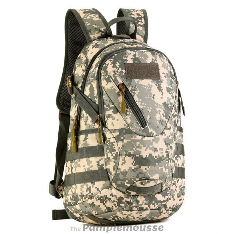 d62ac0e49d44 20L Waterproof Military Backpack For Outdoor Traveling Cycling Tactical  Camping Hiking Rucksack - Camouflage - Free