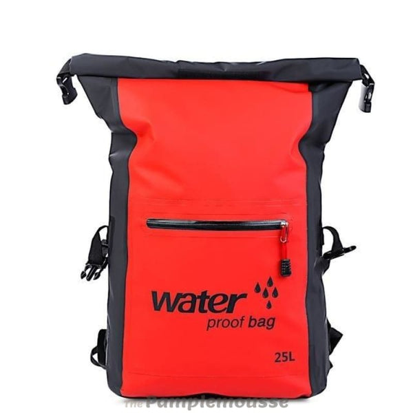 25L Large Capacity Waterproof Floating Sailing Dry Bag Roll Top Rafting Backpack Dry Sack - Red - Free Shipping - Outdoor - Bags - $29.00 |