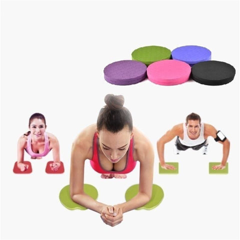 2Pcs Yoga Elbow Pads Fitness Gym Disc Pads Yoga Protective Joint Cushion Pads - Free Shipping - Sports - Gear - $12.00 | The Pamplemousse