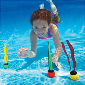 3 Pcs Set Swimming Pool Dive Toys Kids Pool Diving Grab Sticks To Play Underwater - Free Shipping - Outdoor - Gear - $9.00 | The