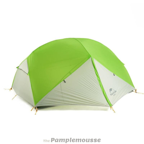 3 Season Waterproof Camping Tent For 2 Persons 20D Nylon Fabric Double Layer - Green Gray - Free Shipping - Outdoor - Gear - $199.00 | The
