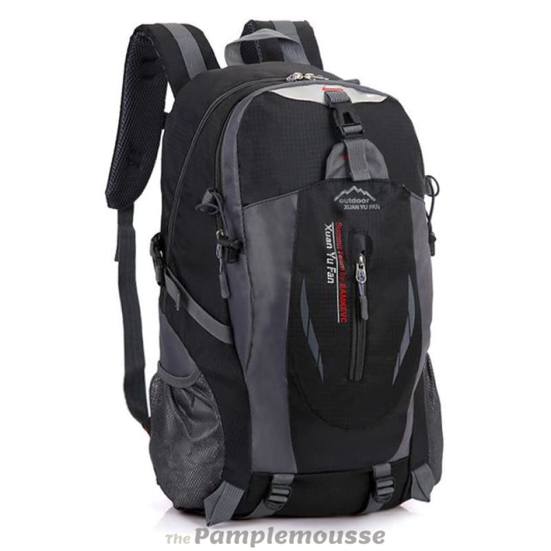 40L Outdoor Hiking Climbing Lightweight Waterproof Travel Backpack - Black  - Free Shipping - Accessories - e82045309be22