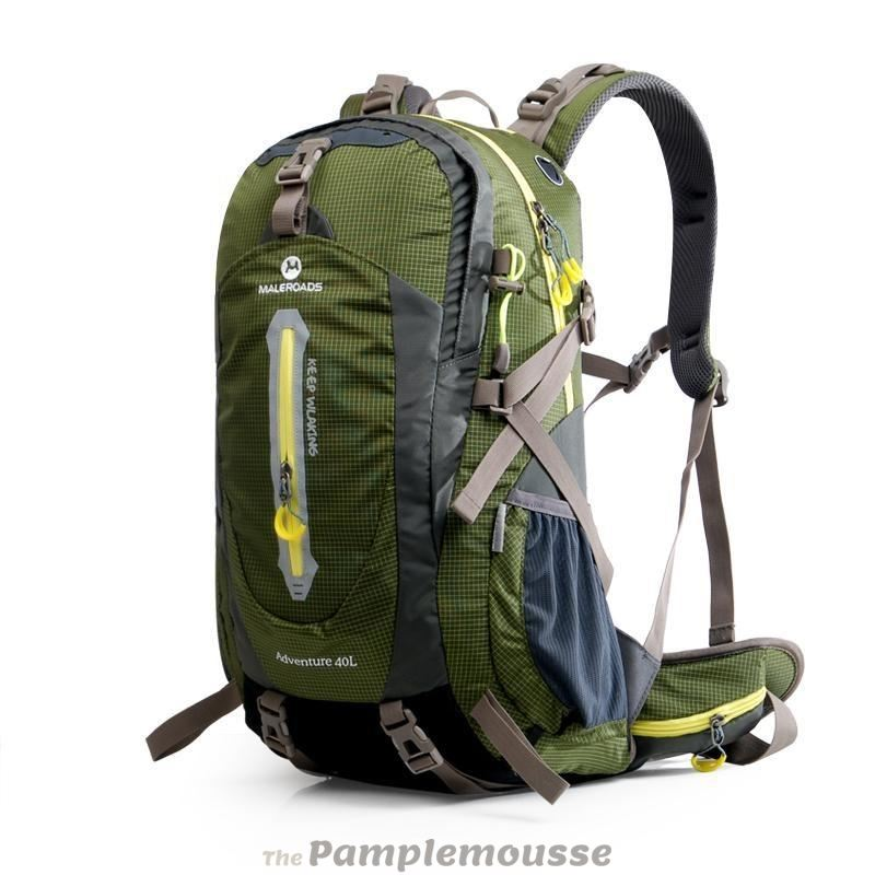 52b3980f52f0 50-70L Travel Sport Outdoor Backpack Camping Hiking Waterproof Zipper  Rucksack