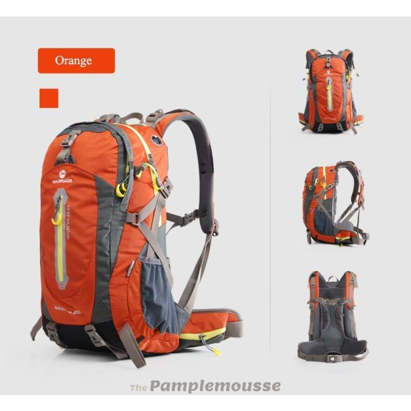 73180a91e593 50-70L Travel Sport Outdoor Backpack Camping Hiking Waterproof Zipper  Rucksack Luggage Bag - Free