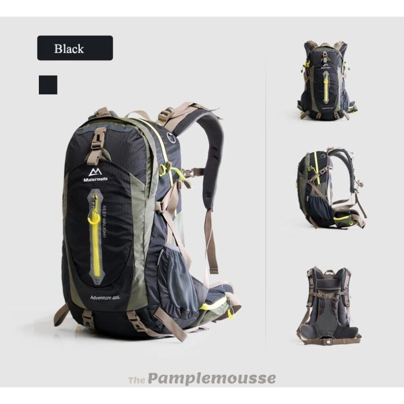 d3e95d88f5cb 50-70L Travel Sport Outdoor Backpack Camping Hiking Waterproof Zipper  Rucksack Luggage Bag - Free