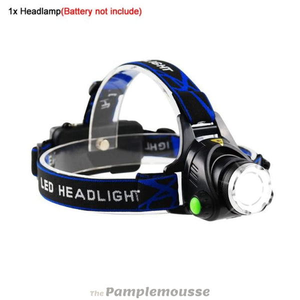 5000 Lumens Led Headlamp Zoomable Flashlight Waterproof Headlight Head Torch Light For Outdoor Sports - A / Xml-T6 - Free Shipping - Outdoor