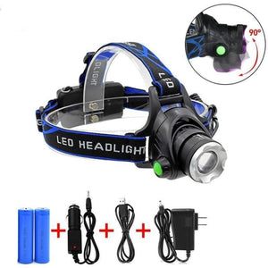 5000 Lumens Led Headlamp Zoomable Flashlight Waterproof Headlight Head Torch Light For Outdoor Sports - Free Shipping - Outdoor - Outdoor -