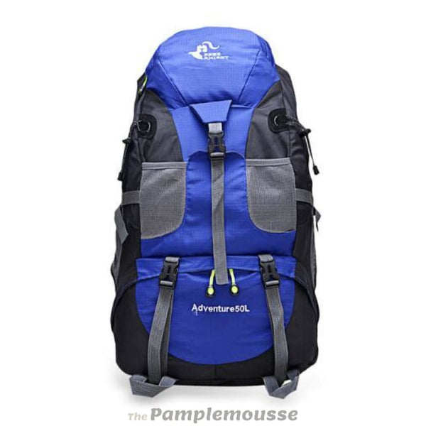 50L Outdoor Hiking Extreme Weatherproof Durable Large Capacity Backpack - Blue - Free Shipping - Accessories - Bags - $29.00 | The