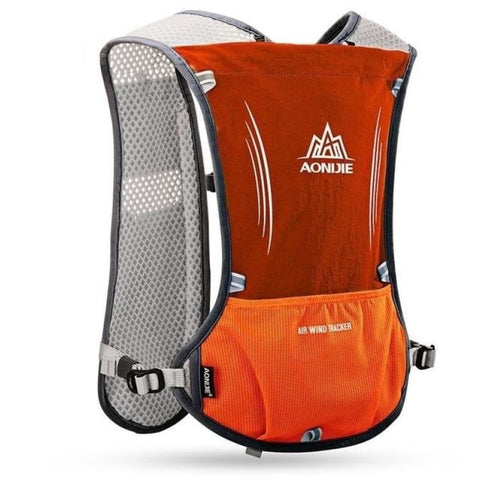 5L Trail Running Cycling Backpack For 1.5L Waterbag Vest Water Bottle Hydration Sport Bag - Orange - Free Shipping - Outdoor - Outdoor -