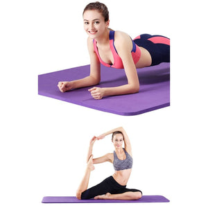 6Mm Thick Foldable Yoga Mat Non-Slip Best Gym Floor Mat Sports Fitness Pilates Pad Mat - Free Shipping - Sports - Gear - $16.00 | The