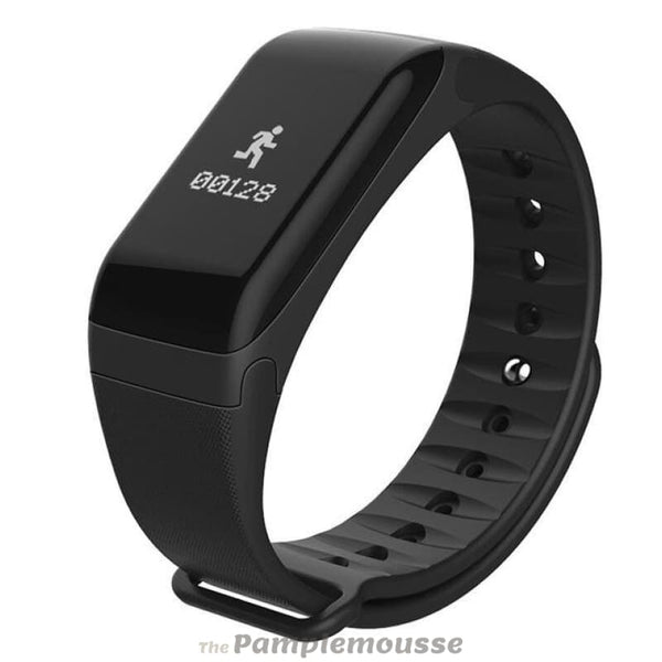 Best Fitness Tracker Smart Activity Tracker Band Blood Oxygen Blood Pressure Smartwatch Fitness Sport Bracelet - Black - Free Shipping -