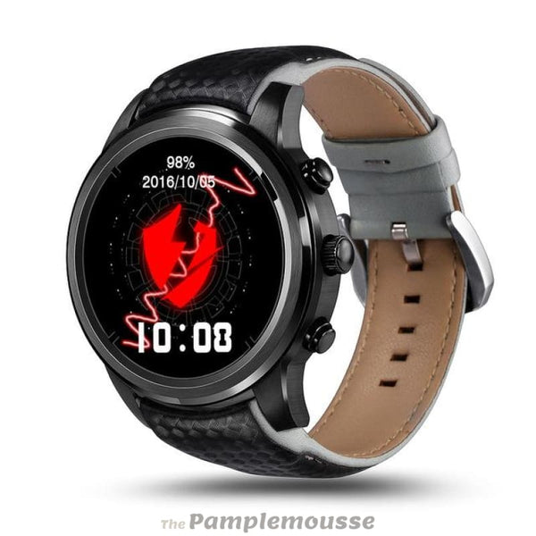 Best Smartwatch Android 1.39 Inch Screen Bluetooth Wifi Gps Heart Rate Monitor Smart Sport Watch - Black - Free Shipping - Electronics -
