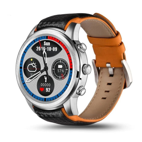 Best Smartwatch Android 1.39 Inch Screen Bluetooth Wifi Gps Heart Rate Monitor Smart Sport Watch - Silver - Free Shipping - Electronics -