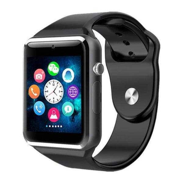 Bluetooth Digital Wrist Sport Smart Watch Smartwatch With Camera For Apple Iphone Android Samsung - Black - Free Shipping - Electronics -