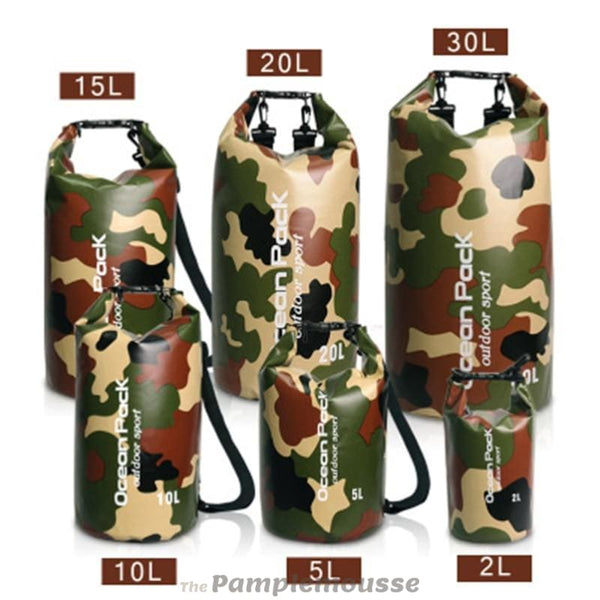 Camouflage Outdoor Waterproof Camping Rafting Storage Floating Bag Kayak River Trekking Dry Bag - Free Shipping - Outdoor - Bags - $11.00 |