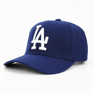 Classic La Dodgers Baseball Letter Cap Adjustable Embroidery - Blue - Free Shipping - Fashion - Accessories - $8.90 | The Pamplemousse