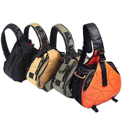 Dslr Camera Sling Backpack Padded Shoulder Bag Case Cover For Canon Nikon Sony - Free Shipping - Electronics - Electronics - $49.00 | The