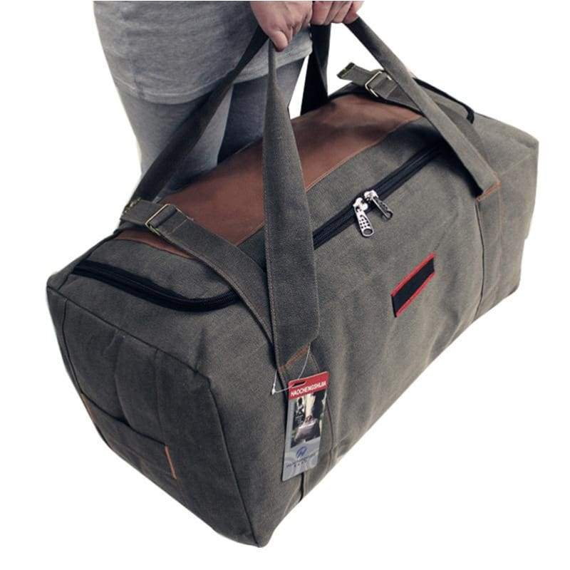 Extra Large Duffle Bag Canvas High Capacity Outdoor Camping Travel Bag -  Free Shipping - Outdoor cbb01e4063312