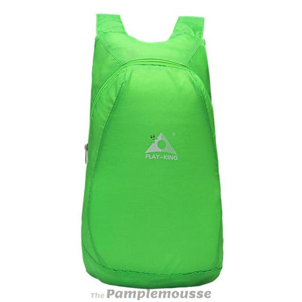 Foldable 20L Lightweight Waterproof Nylon Backpack Ultralight Outdoor Folding Pack For Travel - Green - Free Shipping - Accessories - Bags -