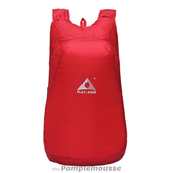Foldable 20L Lightweight Waterproof Nylon Backpack Ultralight Outdoor Folding Pack For Travel - Red - Free Shipping - Accessories - Bags -