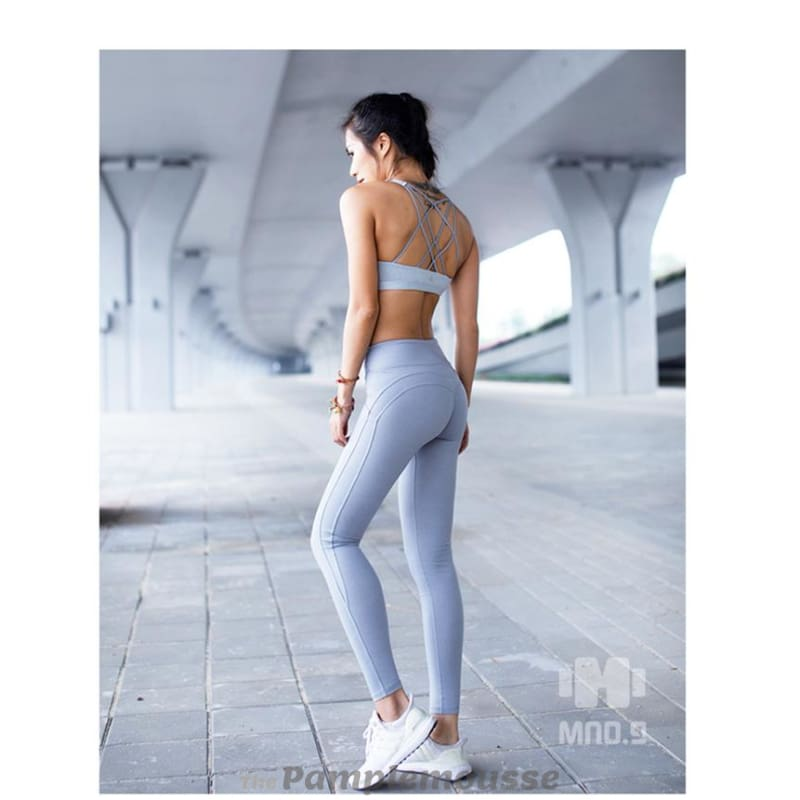 be6a78f99cd70 High Waisted Leggings Hot Yoga Pants Booty Up Sports Leggings Stretch  Workout Hip Push Up Yoga