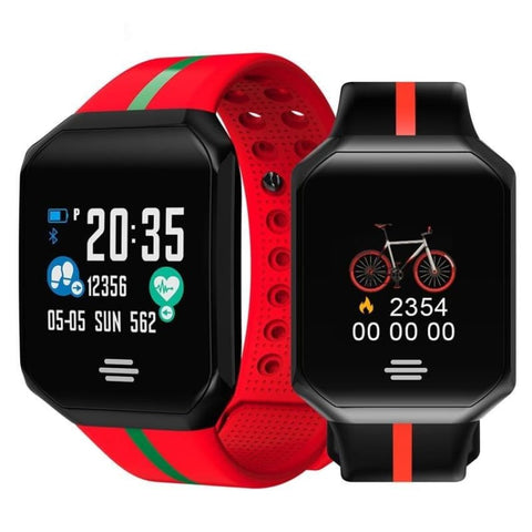 Ip67 Waterproof Sport Blood Pressure Smart Watch Heart Rate Fitness Tracker Smartband For Ios Android - Free Shipping - Sports - Electronics