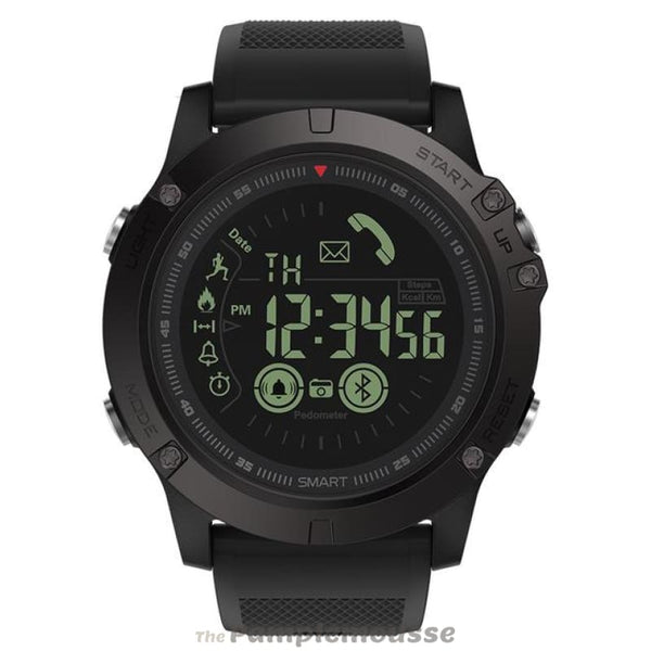 Iphone Android Compatible Waterproof Rugged All-Weather Monitoring Smartwatch - Black - Free Shipping - Electronics - Electronics - $39.00 |
