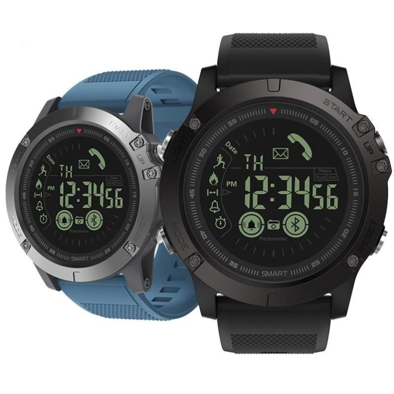 5216f7adfef Iphone Android Compatible Waterproof Rugged All-Weather Monitoring  Smartwatch - Free Shipping - Electronics -
