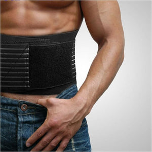 Lumbar Lower Back Brace And Support Belt With 8 Stable Splints To Relief Back Pain New Back Support Brace Belt - Free Shipping - Sports -