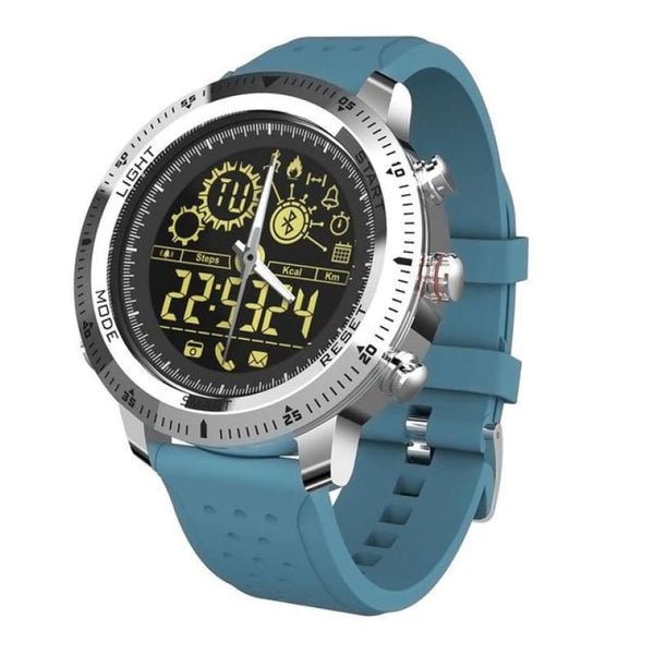 Men Bluetooth Smart Watch Sport Outdoor Waterproof Ip68 Smartwatch - Blue - Free Shipping - Electronics - Electronics - $39.00 | The