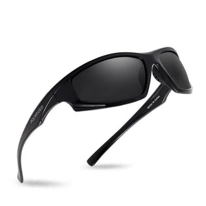 Men Driving High Quality Uv400 Vintage Polarized Sunglasses - Bright Black - Free Shipping - Fashion - Accessories - $16.00 | The