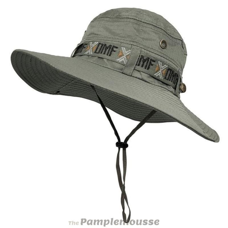 0468325f1d5 Men Fishing Sun Boonie Hat Waterproof Summer Uv Protection Safari Cap  Outdoor Hunting Hat - Dark
